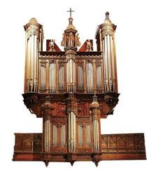 Orgue de Saint Melaine - XVIIème - XIXème sc