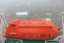 Rettungsboot (Foto Dr. Hochhaus)