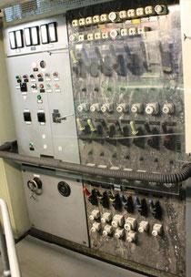 Schalttafel im Maschinenraum