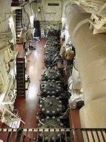 Blick auf die Hauptmaschine (Foto Dr. Hochhaus)
