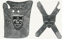 insigne retrouvé en site archéologique