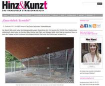 Hinz&Kunzt Website 21.09.2011