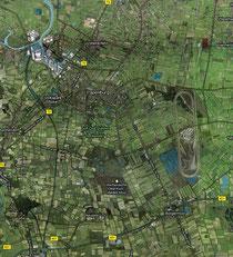 Karte von Papenburg und Umgebung