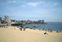Am Strand von Viña
