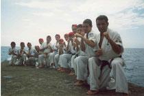 Лагерь в Алуште, 2002 г.