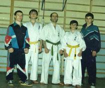 Представители Ояма-каратэ из Дагестана (в центре - руководитель Хизри Рагимов)
