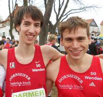 Tim Sidenstein und Simon Huckestein