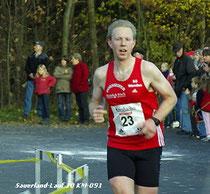 Peter Dornseifer beim Südsauerlandlauf