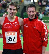 Simon Huckestein und Egon Bröcher