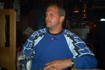 Der 1. Kassierer Robert Bonhard