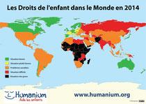 Carte des Indices de Concrétisation des Droits de l'Enfant (ICDE)