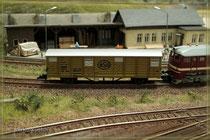 Gedeckter Güterwagen Grs
