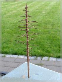 gedrehter Baumrohling