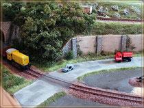 erste Version Bahnübergang