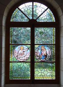 vitrail baroque. Atelier Théophile.Philippe Brissy. Saumur