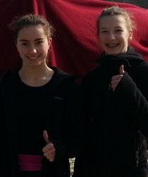 Unsere Talente: Chiara und Hannah