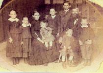 Johann, Rosina u. Kinder um 1885