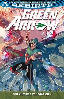Green Arrow Megaband 2 Der Aufstieg von Star City Cover von Panini