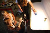 erste Schritte imTrickfilmworkshop