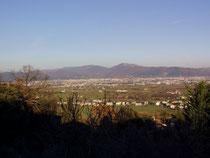 Panoramica su Quarrata