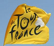 """DRAPEAU """" LE TOUR DE FRANCE """" 2013"""