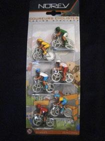 Blister de 6 Cyclistes NOREV Série Racing