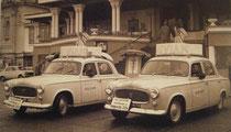 """Peugeot 403 """"EVIAN""""  Caravane Critérium Dauphiné Libéré 1963"""