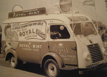 Renault 1000kgs  ROYAL MINT  Chewing Gum    Tour de France 1949