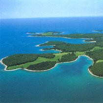 Die Brijuni-Inseln: Von dieser Idylle fehlt in Albaharis Roman jede Spur