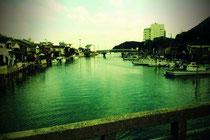 隠岐の島 風景・愛の橋より