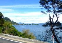 côte est du lac Taupo