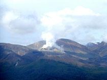 fumerolle dansle Parc national de Tongariro
