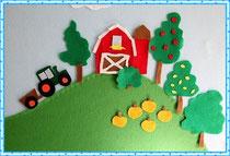 Развивающий стенд для детской игры
