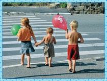 Учимся переходить дорогу