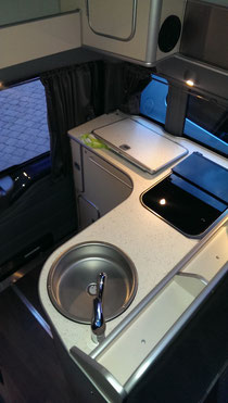 Ford Nugget 2012 - Küchenzeile