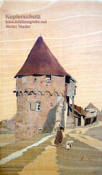 Wehrturm im Elsass