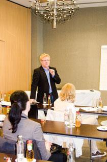 Die Workshops ermöglichten einen intensiven Austausch zwischen TeilnehmerInnen und DozentInnen