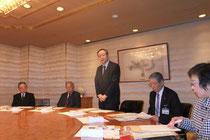 渡邊在スウェーデン日本国大使との懇談