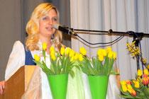 Informativ und unterhaltsam: Melanie Pahn führte in gewohnt souveräner Manier durch das Konzertprogramm