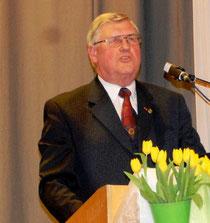 Meister der Rhetorik: Ehrenkreisverbandsvorsitzender Josef Mütz