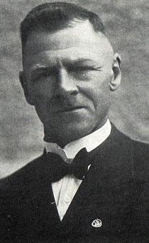 Dirigent Fritz Frommelt in seinen besten Jahren