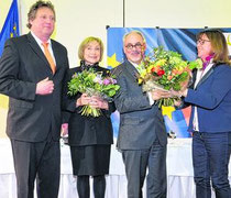 CDU-Spitzenkandidat Etschenberg (3 v. links)