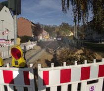 Baustelle Maastraße