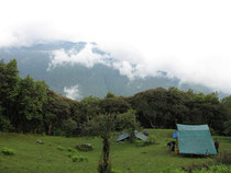 Our third camp, 2700 meter height