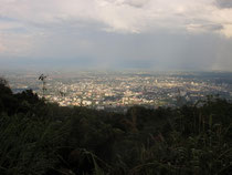 View from Doi Suthep to Chiang Mai