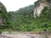 Quarry in Khao Sok, Surat Thani province