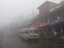 our bus in Kathmandu