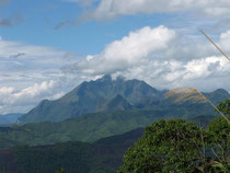 Mountain view near Phou Khun, 1200 m height