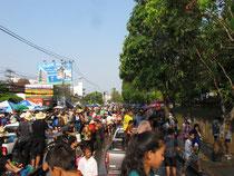 Songkran festival, Chiang Mai 2011