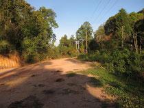 Mountain pass near Hongsa Xayabouri province Laos